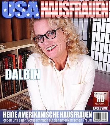 Mature - Dalbin (54) - Amerikanisch Reife Dame fummelt herum