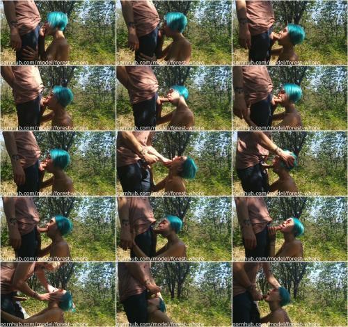 Blowjob in the park [FullHD 1080P]