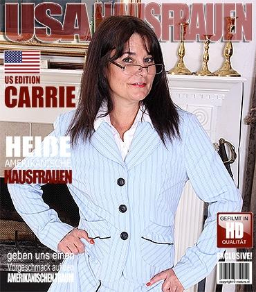 Mature - Carrie M. (52) - Amerikanisch Dame fummelt herum