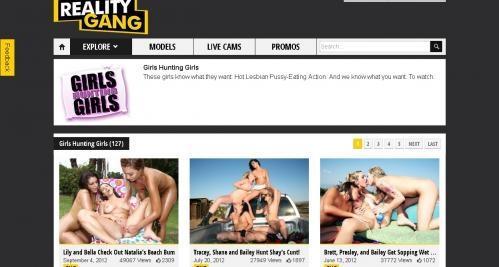 GirlsHuntingGirls.com - SITERIP