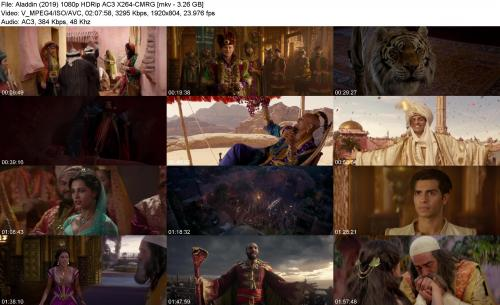Aladdin (2019) 1080p HDRip AC3 X264-CMRG - Full HD (1080p